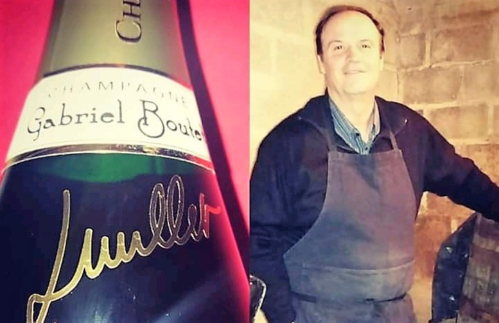 photo le vigneron Luc MILLET